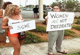 Awesome prank protest signs