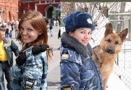 Sexy female police officers from all around the world
