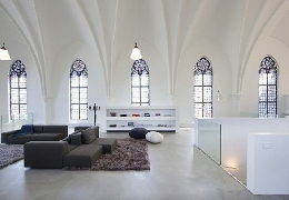 Church converted into a living house
