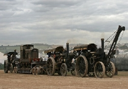 The exhibition of steam engines